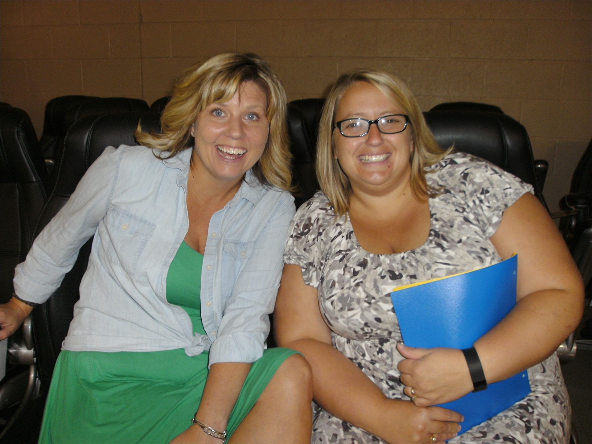 Mrs. Wetzel and Mrs. Moore