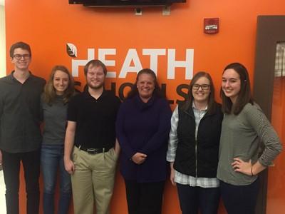 Photo of Heath Alumni Mentorship Participants
